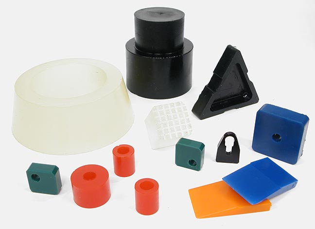 Polyurethane Custom Molded Items